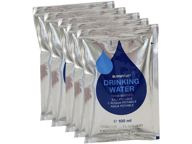 Katadyn Trans-Ocean Emergency Drinkingwater Ration 5 x 100ml